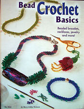 Bead Crochet Basics Beaded Jewelry Project Book Designs Originals New