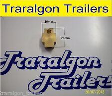 hydraulic trailer T piece 3 way block joining flex hose brake 3/8 bundy tube D36