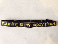 StayHair No/Non-slip sweaty Headbands Velvet bands Running Sport - Happy Place
