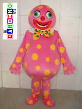Blobby Costume - Mr Party Clown Mascot - Mister Tumble Suit