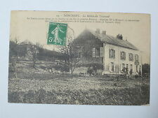 Carte postale CPA 08 Donchery La maison du tisserand voyagée 1913