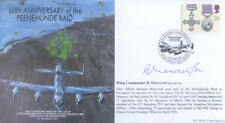 MF8d WWII WW2 RAF Avro Lancaster cover signed MOORCROFT DSO DFC