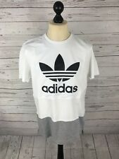 ADIDAS FIREBIRD T-Shirt - Size Large - White - Great Condition