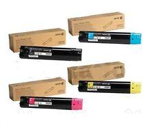 4 x Original Toner XEROX Phaser 7760 7760GX / 106R01163 -106R01160 Cartridge Set