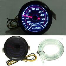 """Universal 2 """" 52mm LED Coche Turbo Boost Indicador Calibrador de Presión Medidor"""