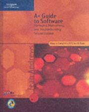 NEW Computer BOOK CD A+ GUIDE TO SOFTWARE Manage Maintain Troubleshoot Andrews 2