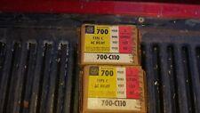 ALLEN BRADLEY CONTROL RELAY10 AMP 600VAC 120V COIL 700 C110  NEW IN BOX
