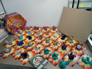 Bakugan Battle Brawlers Huge Lot of 30 Set From Japan. Tin,Cards,Magnetic Cards