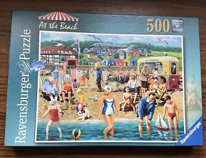 At The Beach Ravensburger 500 Piece Jigsaw Puzzle Artist Kevin Walsh