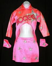 BARBIE & THE ROCKERS 1980'S PINK & SILVER DANCER'S OUTFIT * HALLOWEEN