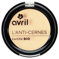 Anti-cernes correcteur de teint bio AVRIL 100% naturelle made  france 4 teintes