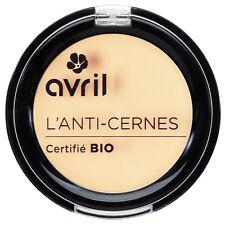 Anti-cernes correcteur de teint bio AVRIL 100% naturelle made  france teintes