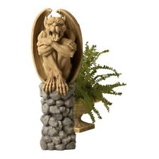 Trystan Gargoyle Sentry of the Night Sculpture Gothic French style statue V