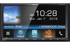 "KENWOOD DDX775BH 6.95"" CD DVD BLUETOOTH USB WAZE WEBLINK SIRIUS HD RADIO STEREO"