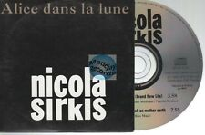 Indochine Alice Dans La Lune CD PROMO Nicola Sirkis
