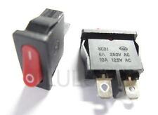 4 PCS On/Off Mini Rocker Switch 6A 12V - 220V RED R95