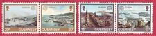 Guernsey 1983 Europa CEPT Set 4 Stamps in Horizontal Pairs - Port & Harbour UM