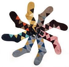 Pantherella Men's Argyles Soft Cotton Mid-Calf Socks 8-pair Couture Pack