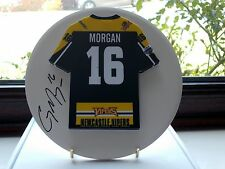 Cory Morgan, Newcastle Vipers, Rare & Stunning Autographed/Signed Plaque.