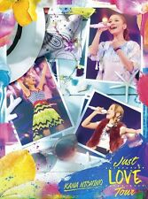 New Nishino Kana Just LOVE Tour First Limited Edition 2 DVD Photobook Japan F/S