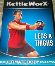 Kettle Worx Legs And Thighs DVD Kettlebell Kettle Bell  Workout