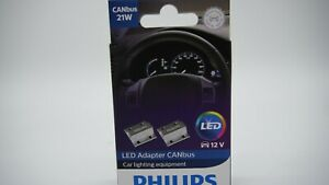 PHILIPS 21W LED 1156, 1157, 7440, T20, 7443, 3156, 3157 CANbus Warning Decoder