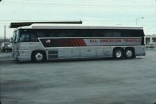 All American Travels Mci bus Kodachrome original Kodak slide