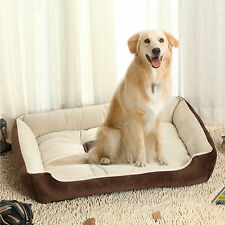 Waterproof Pet Puppy Dog Cat Bed House Basket Warm Soft Nest Mat 90 x 70cm