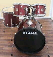 Schlagzeug TAMA Rhythm Mate RM50YH6-RDS Red Stream inkl. Meinl BCS Cymbalset