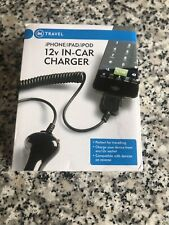 In Travel  12v Charger For iPhone/iPod/iPad UK