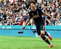 Son Heung-min Signed 10X8 Photo SPURS Tottenham Hotspur AFTAL COA