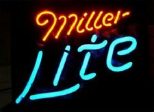 "Miller Lite Neon Lamp Sign 14""x9"" Acrylic Bright Lighting Artwork Glass Bar A"