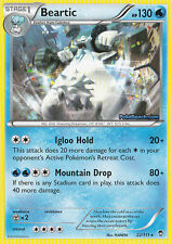BEARTIC 22/111 - XY FURIOUS FISTS POKEMON RARE CARD - IN STOCK NOW!