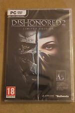 Dishonored 2 - Limited Edition PC DVD NEW & SEALED English & Polish + STEAM