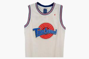 YOUTH Michael Jordan ORIGINAL Space Jam Tune Squad Basketball Jersey S M L XL