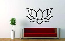 "Lotus Flower Wall Decal/Sticker Art  24""X 15""  Yoga Meditation Decor Buddhist"