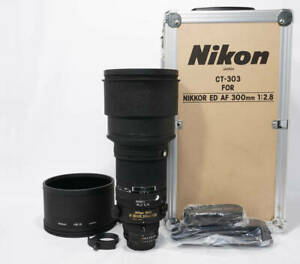 Nikon AF ED 300mm F2.8 S (IF) NEW with case