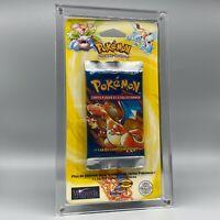 Booster Pack Charizard - 1999 - FRENCH - Pokemon - SEALED - SET BASE Blister