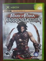 Prince of Persia: Warrior Within (Microsoft Xbox, 2004) GAME AND CASE