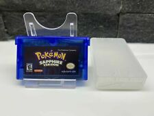 Game Boy Advance GBA Pokémon Sapphire Copy - UK Stock - Free Postage  *Mint*