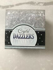 """Floral Crafts Acrylic Crystal Dazzlers Vase Fillers - 5/8"""" Black Chunks"""