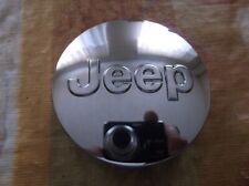Jeep OEM 2007-2017 Compass Liberty Wrangler Dark Gray Center Hub Cap 52090401AB