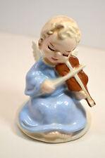 Bresse signed Vintage Playing Angel Porcelain Figurine