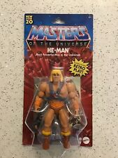 Masters of the Universe HE-MAN Retro Action Figure MOC SEALED - NEW!!!