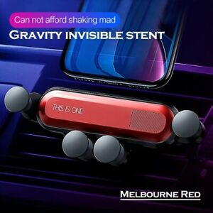 360° Folding Gravity Car Phone Holder Air Vent Mount Stand for iPhone XS Samsung