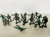 Mixed Lot of Green Toy Soldiers