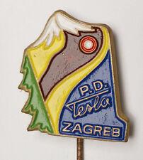 NIKOLA TESLA - CROATIA Mountaineering Club TESLA  Zagreb - pin badge B2