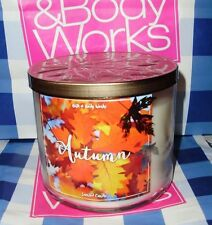 Bath and Body Works Autumn 14.5 oz Large 3-wick Candle