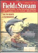 2/1959 Field & Stream Magazine