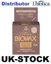 L'biotica Biovax Naturals oli di Argan, Macadamia, Cocco Maschera Capelli 250ml 2 OMAGGI